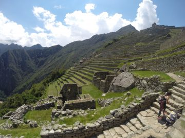 Machu Picchu - the ruins of an ancient civilisation