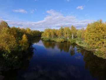 Wonderful Northern Lapland Scenery